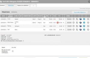 logiciel gestion notes de frais